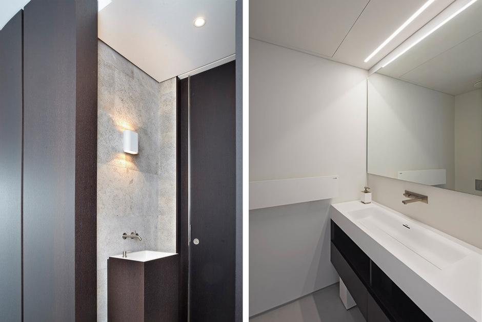 светодиодное освещение в ванной комнате фото