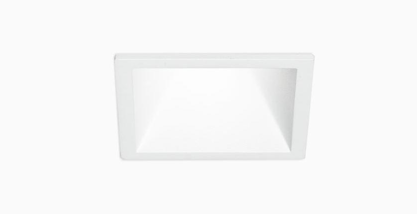 встраиваемый светодиодный светильник KVADRA